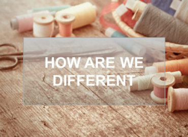 How we are different