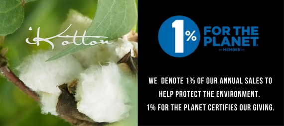 iKotton now a member of One Percent for the Planet