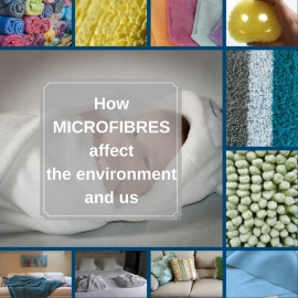 Think twice before you next use microfibres